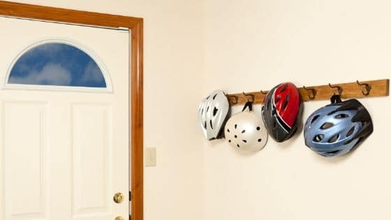 What to do with old bike helmets