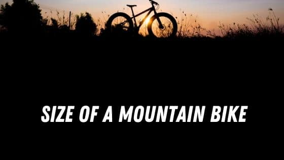 size of a mountain bike