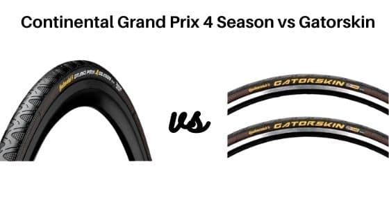 Continental Grand Prix 4 Season vs Gatorskin