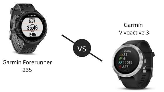 Garmin Forerunner 235 vs Vivoactive 3 – Which One To Buy