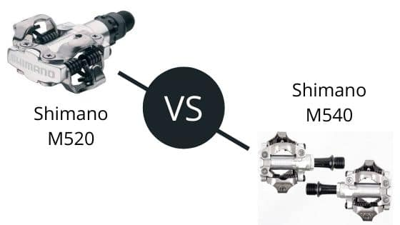 Shimano M520 vs M540 – Which Pedals To Choose