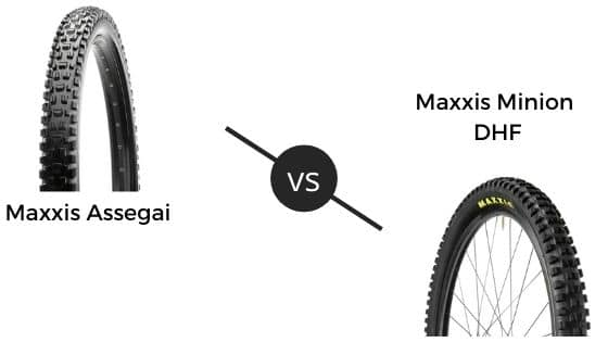 Maxxis Assegai vs DHF – Which One To Pick?